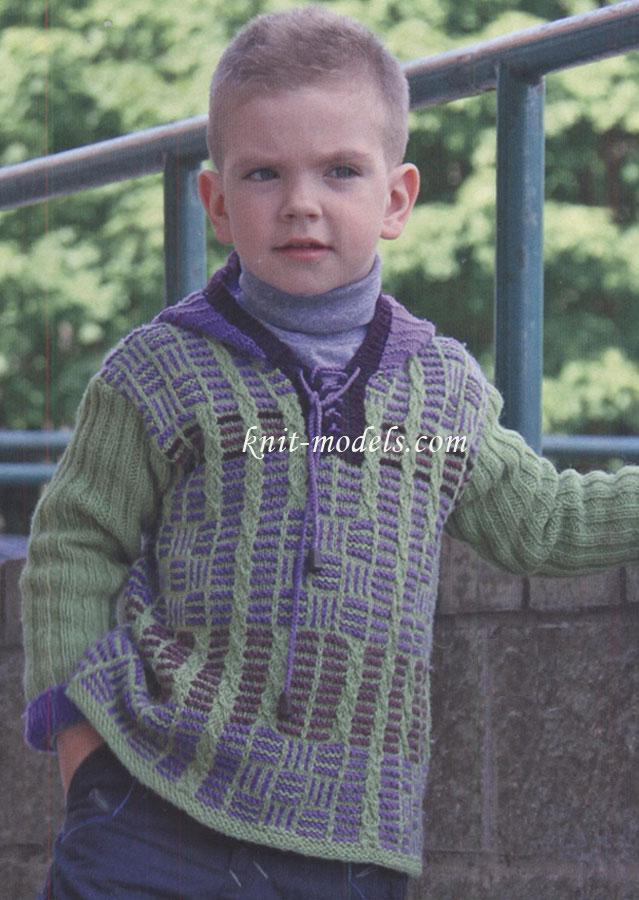 вязание снудов для мальчиков