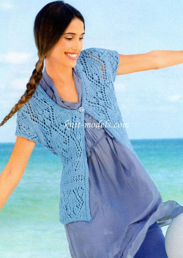 На сайте вязания Вы найдете много информации про Вязание спицами для женщин ажурные узоры - с качественными