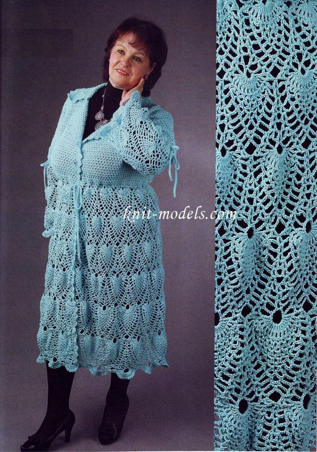 Пальто для полных дам