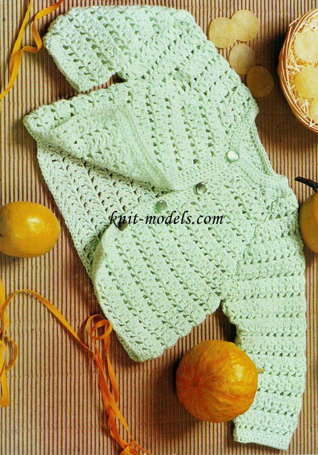 Вязание крючком для малышей.