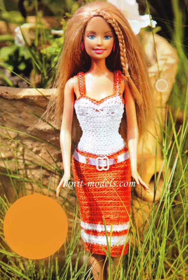Безрукавка выкройка для куклы 16