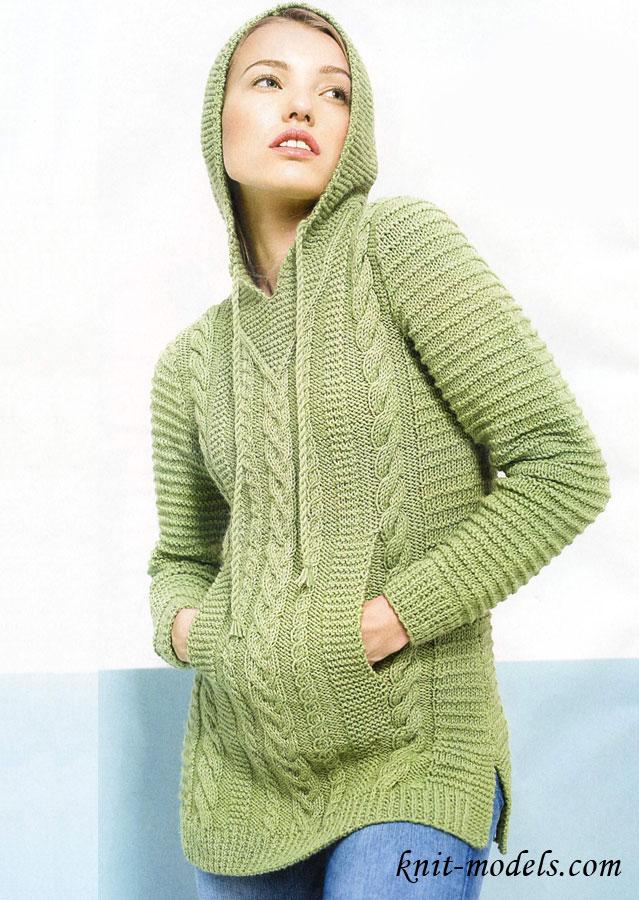 Вязание детских свитеров для девочек