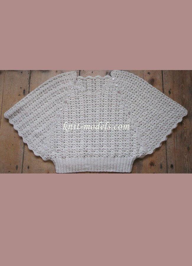 Вязание рукав для кофты