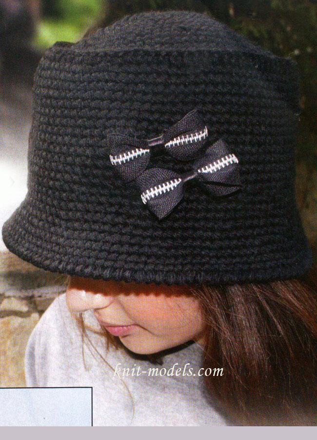 Классическая женская шляпа