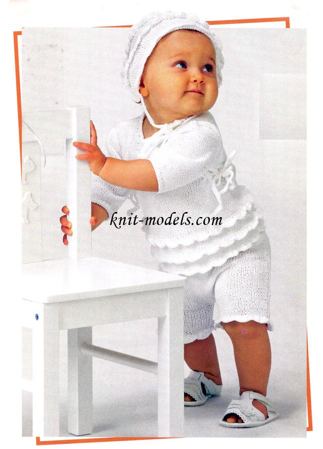 Вязание для малышей. Вязание спицами
