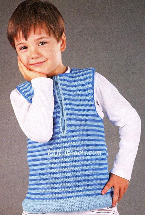 Вязание для мальчиков.