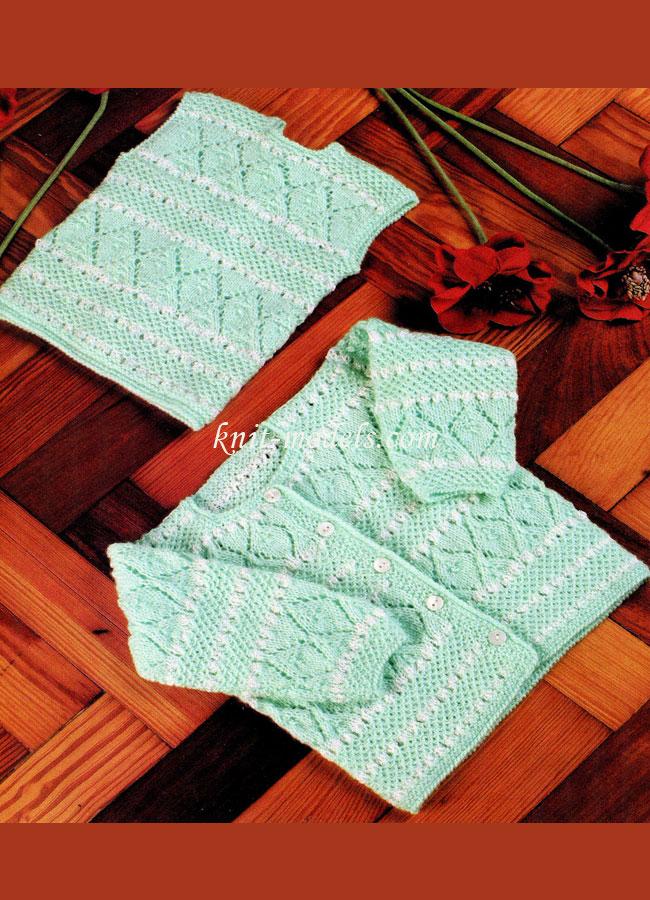 Вязание для детей спицами. Комплект