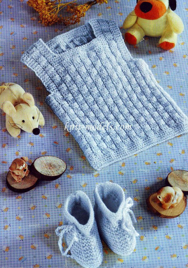 Вязание спицами для грудничков