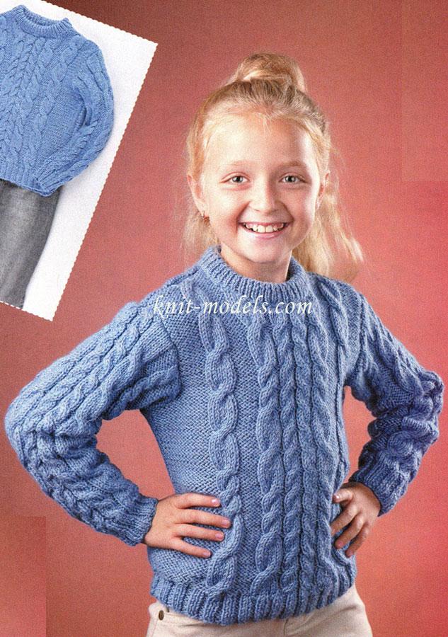 Вязанные кофты для девочек