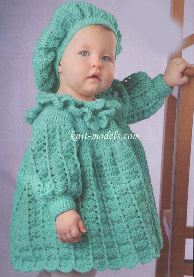 пальто и берет для самых маленьких