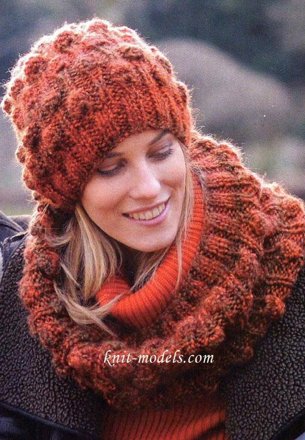 Вязание шарфы спицами для детей от 134